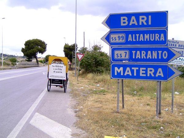 Ma...come ci arrivo a Matera?